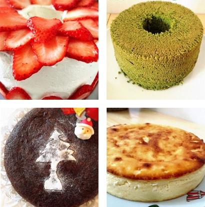 TAKE OUTできるケーキ