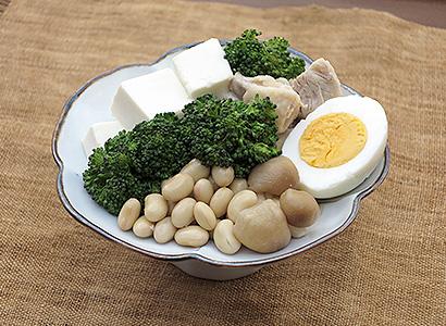 豆腐カレー具材