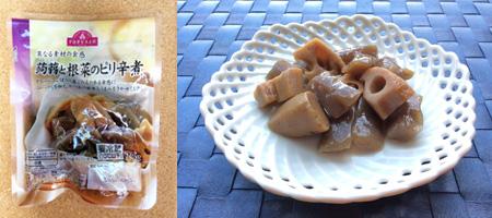 蒟蒻と根菜のピリ辛煮