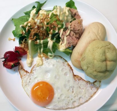 江角先生の朝食